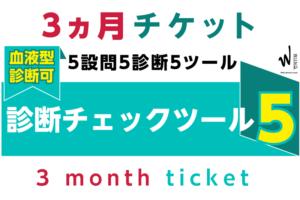 3ヵ月チケット-診断チェックツール5